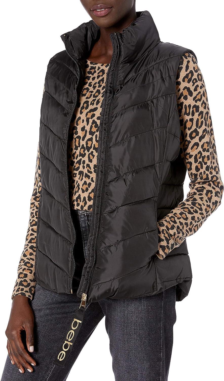 Popular standard BeBe Women's Outerwear Puffer Jacket Nippon regular agency