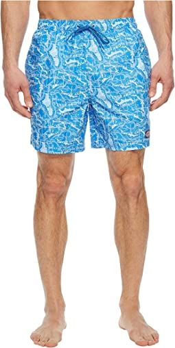 Vineyard Vines Bahama Map Chappy Swim Trunks