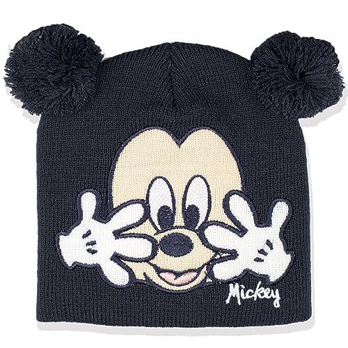 9fd2a41e Disney Mickey Mouse Knitted Pom Pom Baby Boy Warm Winter Hat - New 2017/18