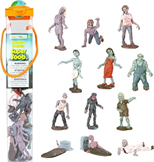 Safari Ltd. Super TOOB - Zombies - Realistic Hand Painted Toy Figurine Models - Quality Construction from Phthalate, Lead and BPA Free Materials - for Ages 3 and Up
