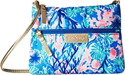 Lilly Pulitzer Zip It ID Crossbody