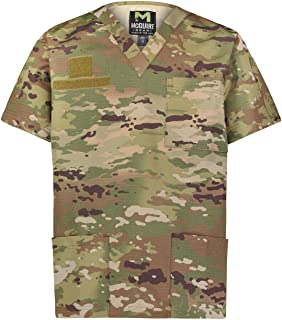 Tactical Ripstop Scrubs Top - for Nurses, Military and EMS