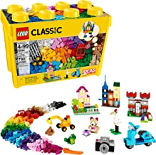 LEGO Classic Large Creative Brick Box 10698 Build Your Own Creative Toys, Kids Building Kit (790 Pieces)