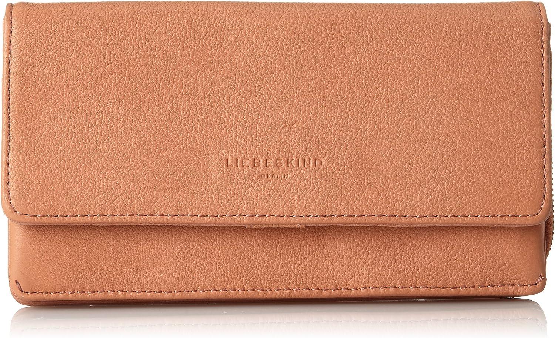 Liebeskind Berlin Women's Piaf8 Leather Zip Around Wallet, bluesh Pink, One Size