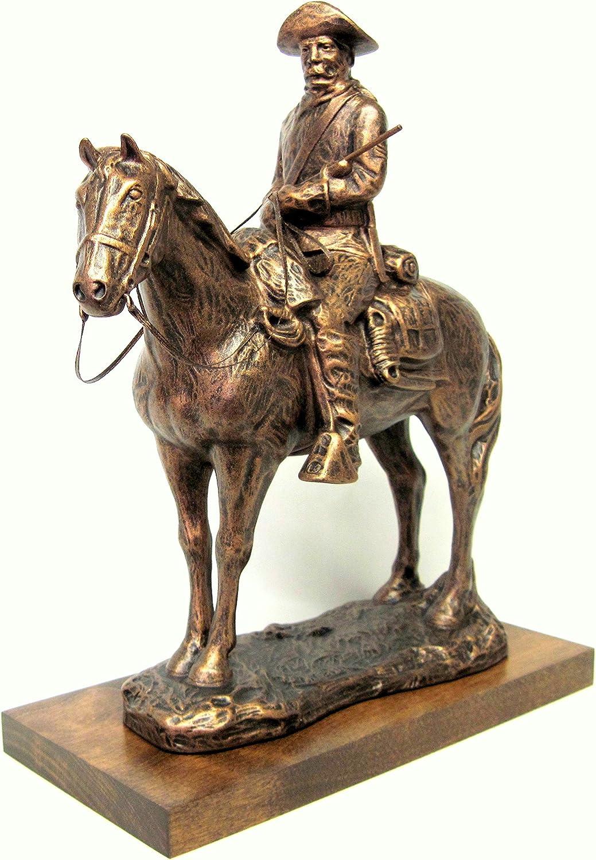5 ☆ popular Terrance Patterson Gallery Max 53% OFF Ol' Bill War Statu Post-Civil Cavalry