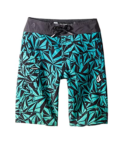 Volcom Kids Confetti Stone Mod Boardshorts (Big Kids) (Blue Bird) Boy