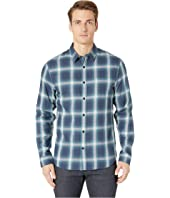 Vince - Ombre Shadow Plaid Long Sleeve