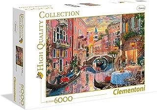 Clementoni - 36524 - High Quality Collection Puzzle - Venise Coucher de Soleil- 6000Pièces