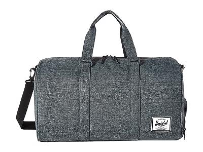 Herschel Supply Co. Novel (Raven Crosshatch) Duffel Bags