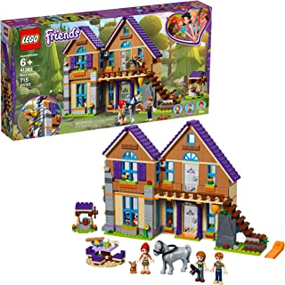 LEGO Friends Mia's House 41369 Building Kit with Mini-Doll Friends Figures and Toy Horse, New 2019 (715 Pieces)