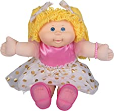 Cabbage Patch Kids Vintage Retro Style Yarn Hair Doll - Original Blonde Hair/Blue Eyes, 16