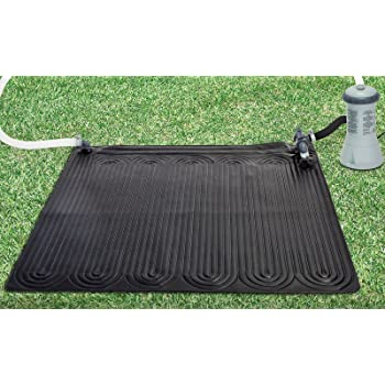 Intex 28685E Solar Mat Above Ground Swimming Pool Water Heater for 8,000 GPH Pool, Black (2 Pack)