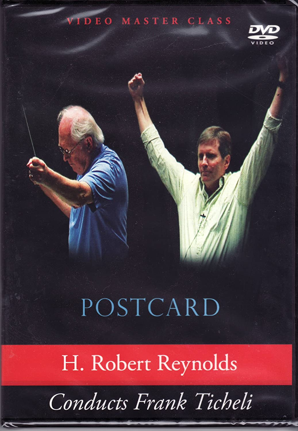 H. Robert outlet Reynolds conducts Ticheli's Postcard Frank Ranking TOP6