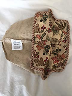 Longaberger Liner for Small Fruit Basket in Autumn Path Fabric