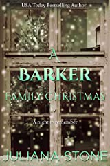 A Barker Family Christmas (The Barker Triplets Book 4) Kindle Edition