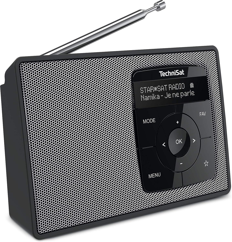 Technisat Digitradio 2 Tragbares Dab Ukw Radio Mit Akku Mit Bluetooth Audiostreaming Weckfunktion Oled Display Kopfhöreranschluss Lautsprecher 1 W Rms Schwarz Silber Heimkino Tv Video