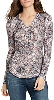 William Rast Women's Woodland North Henley Top