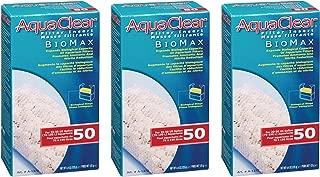(3 Pack) Aquaclear 50-gallon Biomax