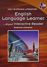 Holt McDougal Literature: English Language Learner Adapted Interactive Reader American Literature