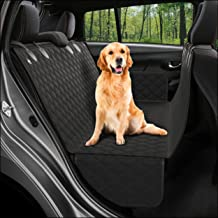 Dog Back Seat Cover Protector Waterproof Scratchproof Nonslip Hammock for Dogs Backseat Protection Against Dirt and Pet Fu...