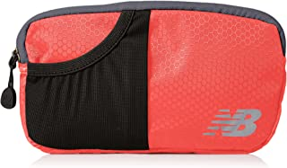 New Balance Men's and Women's Performance Waist Pack/Fanny Pack, Multicolor Zip Compartment Bag One Size