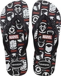 Chinelo Top Marvel Logomania, Havaianas, Adulto Unissex