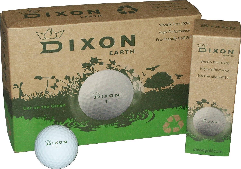 Dixon Earth Golf [ギフト/プレゼント/ご褒美] Dozen Balls 1着でも送料無料 One