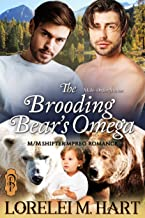 The Brooding Bear's Omega: An M/M Mpreg Shifter Romance (Male-Order Mates Book 3)
