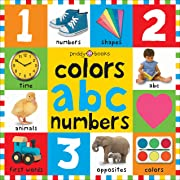 Bright Bbaby colors, abc, & numbers first words (First 100)