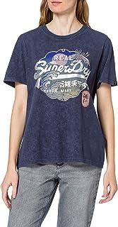 Superdry Women's Vl Itago Tee T-Shirt