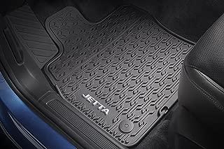 Volkswagen 2019 VW Jetta Black Monster Rubber All Season Floor Mats Set