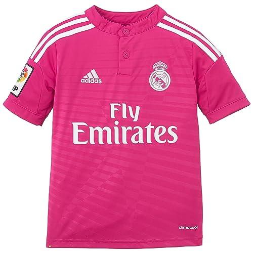 90e90caaf51f0 adidas - Camiseta Junior 2ª Equipación Real Madrid CF 2014-2015