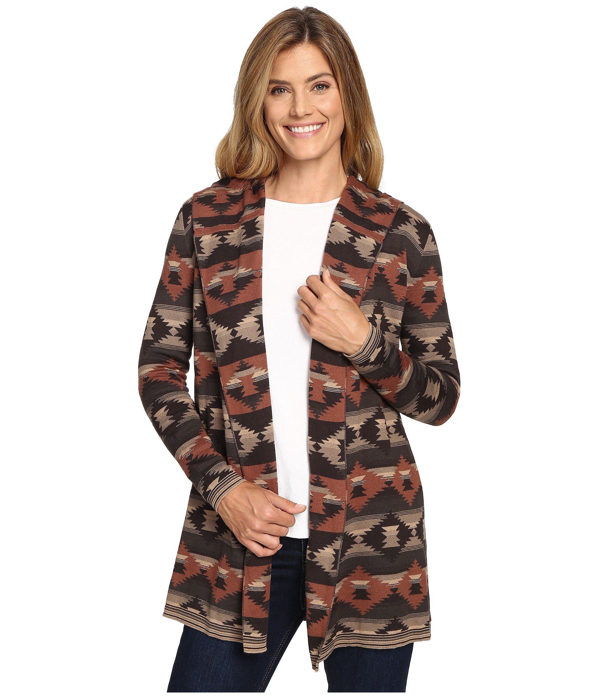Saco para Mujer Woolrich Dew Berry Hooded Fairisle Cardigan II  + Woolrich en VeoyCompro.net