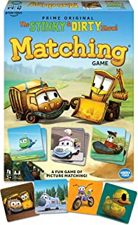 Wonder Forge The Stinky & Dirty Show Matching Game for Boys & Girls Age 3 & Up - A Fun & Fast Memory Game, Model Number: 6...