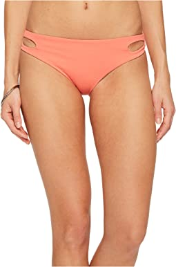 Roxy - Softly Love Reversible Scooter Bikini Bottom