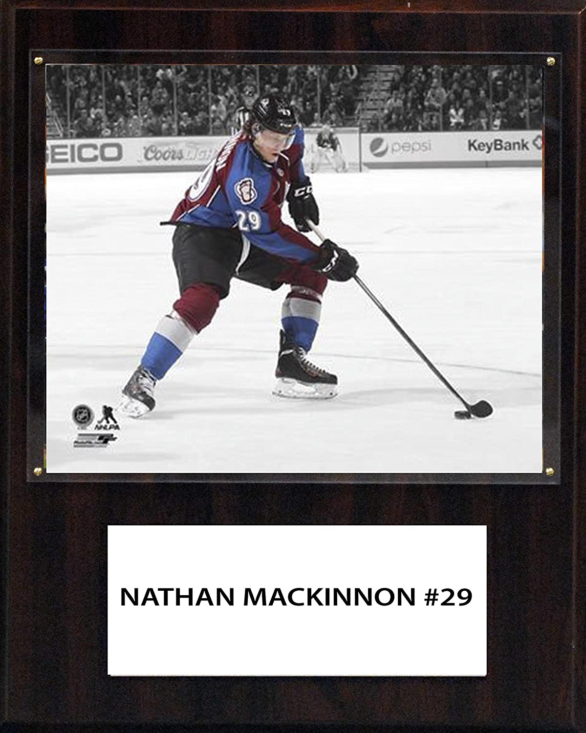 NHL colorado Avalanche Nathan MacKinnon 12 x 15Inch Player Plaque