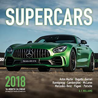 Best supercars 2017 calendar Reviews