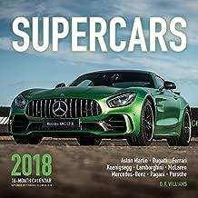 Supercars 2018: 16 Month Calendar Includes September 2017 Through December 2018