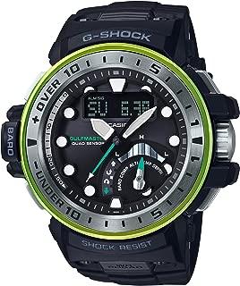 [カシオ] 腕時計 ジーショック GULFMASTER マスターインマリンブルー 電波ソーラー GWN-Q1000MB-1AJF ブラック