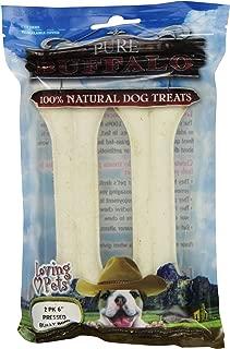 Loving Pets Pure Buffalo Pressed Bully Bone