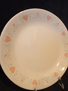 Vintage Corelle Country Hearts Forever Dinner Plate, Corning Country Hearts Forever