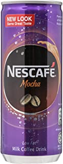 Nescafe Milk Coffee Mocha Can, 6 x 240ml
