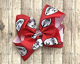 thing 1 and thing 2 bows