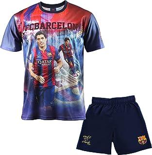 FC Barcelona Luis Suárez - Juego de camiseta y pantalones cortos para niño