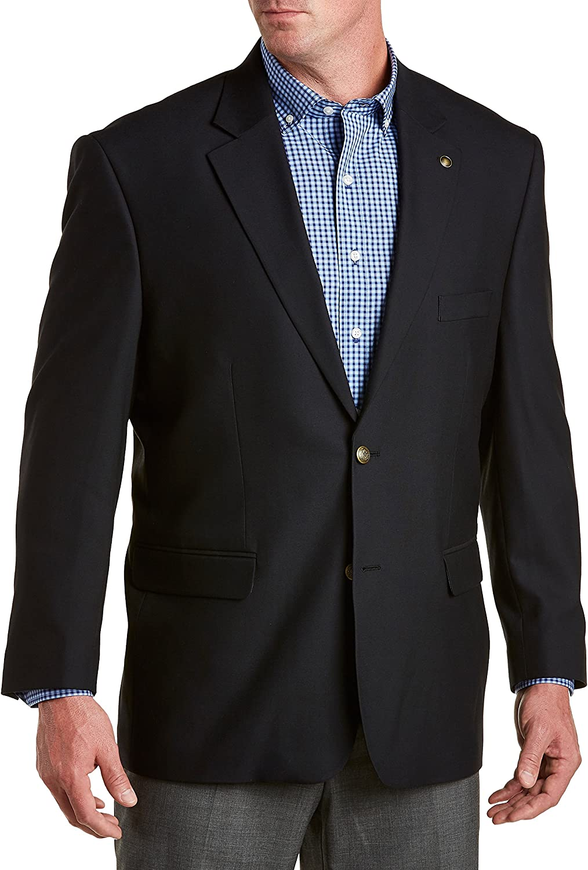 Gold Series DXL Big and Tall Jacket-Relaxer Blazer -Executive Cut (Regular)