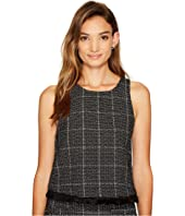 Bishop + Young - Tweed Fringe Tank Top