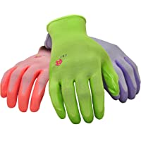 6-Pack Women's Gardening Gloves (Medium or Lrage)