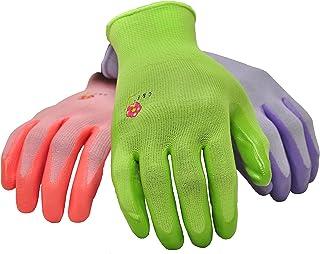 6 PAIRS Women Gardening Gloves with Micro Foam Coating – Garden Gloves Texture Grip..