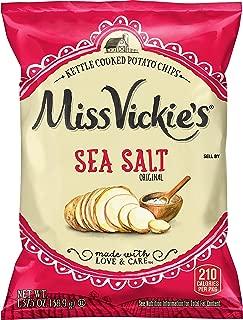Best miss vickie's sea salt and vinegar chips nutrition Reviews