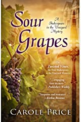 Sour Grapes (A Shakespeare in the Vineyard Mystery) Hardcover